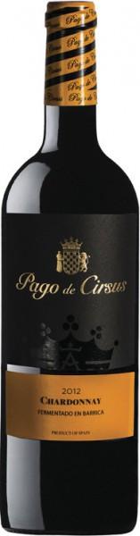 Вино Pago de Cirsus, Chardonnay Fermentado en Barrica, 2012