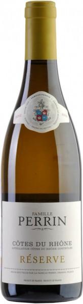 """Вино Perrin et Fils, """"Perrin Reserve"""", Cotes du Rhone AOC Blanc, 2012"""