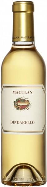 "Вино Maculan, ""Dindarello"", 2018, 0.375 л"