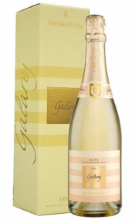 Асти Fontanafredda Galarej Asti DOCG 2011 gift box 0.75л