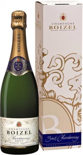 "Шампанское Boizel, ""Blanc de Blancs"" Brut Chardonnay, gift box"