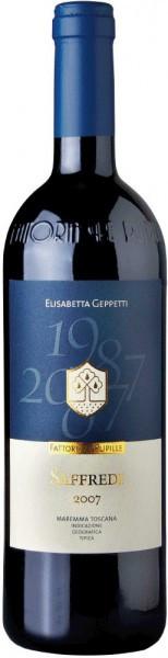"Вино Fattoria Le Pupille, ""Saffredi"", Toscana Maremma IGT, 2007"
