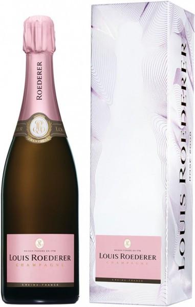 """Шампанское Brut Rose AOC, 2009, """"Grafika"""" gift box"""