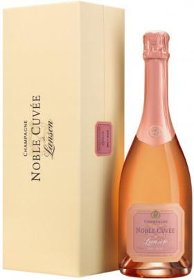 Шампанское Lanson Noble Cuvee Brut Rose, gift box