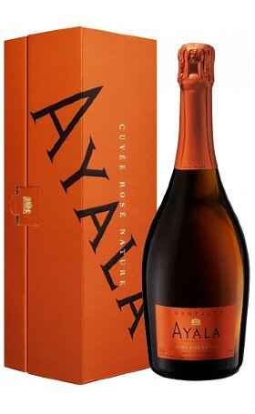 Шампанское Ayala Cuvee Rose Nature Brut 0.75л
