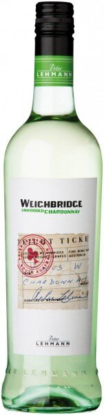 "Вино Peter Lehmann, ""Weighbridge"" Unoaked Chardonnay, 2012"