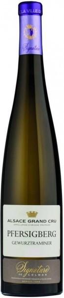 """Вино Domaine Viticole de la Ville de Colmar, Gewurztraminer Grand Cru """"Pfersigberg"""", Alsace AOP"""