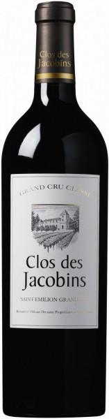"""Вино """"Clos des Jacobins"""", Saint-Emilion Grand Cru AOC, 2010"""