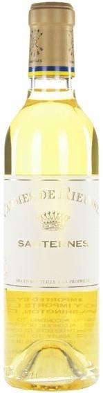 """Вино """"Les Carmes de Rieussec"""", Sauternes AOC, 0.375 л"""