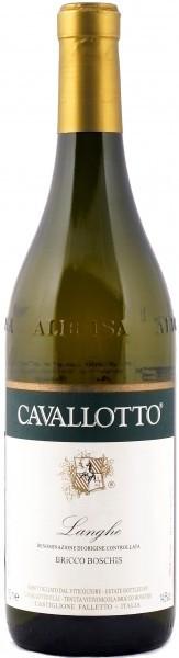 Вино Cavallotto Pinot Langhe Bianco DOC Bricco Boschis 2009