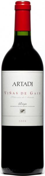 """Вино Artadi, """"Vinas de Gain"""", Rioja DOC, 2008"""