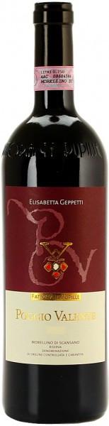 """Вино Fattoria Le Pupille, """"Poggio Valente"""", Morellino di Scansano Riserva DOC, 2005"""