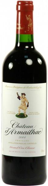 Вино Chateau d'Armailhac Pauillac AOC 5-me Grand Cru Classe 2004