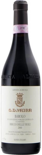 """Вино G.D.Vajra, """"Bricco delle Viole"""", Barolo DOCG 2009"""