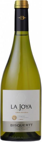 "Вино Bisquertt, ""La Joya"" Gran Reserva, Viognier, Colchagua Valley DO, 2012"