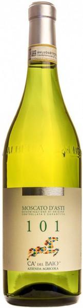 "Игристое вино Ca'del Baio, ""101"" Moscato d'Asti DOCG, 2014"