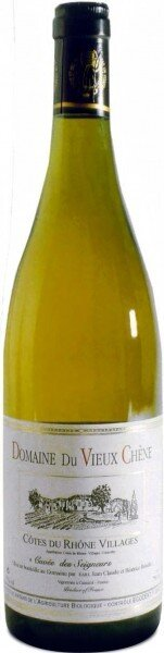 Вино Cotes du Rhone Villages AOC Cuvee des Seigneurs Blanc 2009