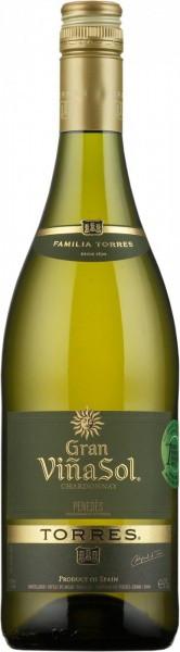 """Вино Torres, """"Gran Vina Sol"""", Penedes DO, 2011"""