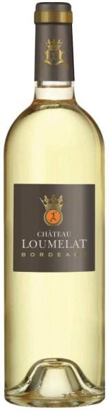 Вино Chateau Loumelat Blanc, Bordeaux AOC, 2013