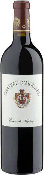 Вино Chateau D'Aiguilhe, Cotes de Castillon AOC, 2002