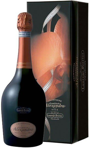 "Шампанское ""Alexandra"" Rose Brut, 1998, gift box"