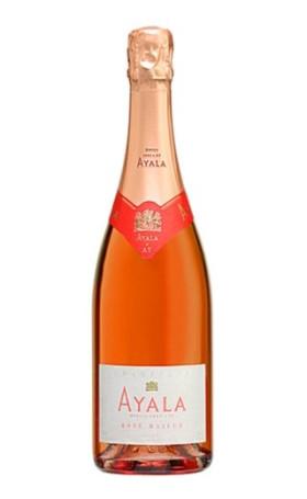 Шампанское Ayala Rose Majeur 0.75л