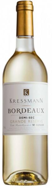 "Вино Kressmann, ""Grande Reserve"" Bordeaux AOC Demi-sec, 2010"