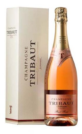 Шампанское Tribaut Brut Rose gift box 0.75л