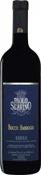 """Вино Paolo Scavino, """"Bricco Ambrogio"""", Barolo DOCG, 2002"""