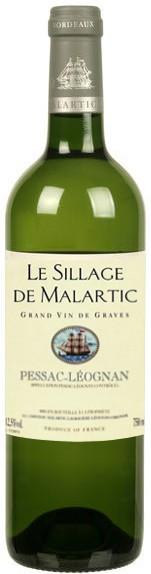 "Вино ""Le Sillage De Malartic"" Blanc, 2005"