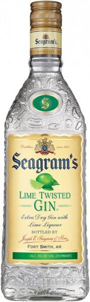 "Джин ""Seagram's"" Lime Twisted Gin, 1 л"