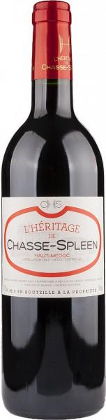 "Вино ""L'Heritage de Chasse-Spleen"", Haut-Medoc AOC, 2010"