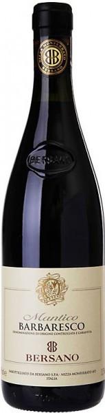"Вино Bersano, ""Mantico"", Barbaresco DOCG, 2012, gift box"