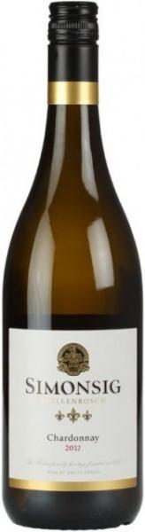 Вино Simonsig, Chardonnay, 2012