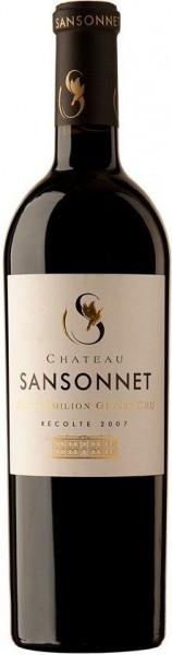 Вино Chateau Sansonnet, Saint-Emilion Grand Cru AOC, 2007