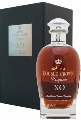 "Коньяк ""Double Crown"" XO, black wooden box, 0.7 л"