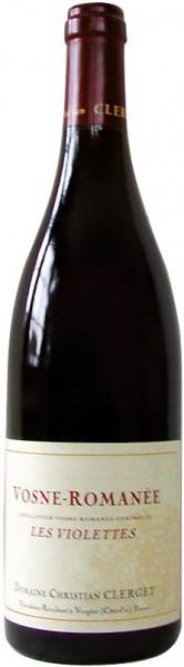 "Вино Domaine Christian Clerget, Vosne-Romanee 1-er Cru ""Les Violettes"", 2008"