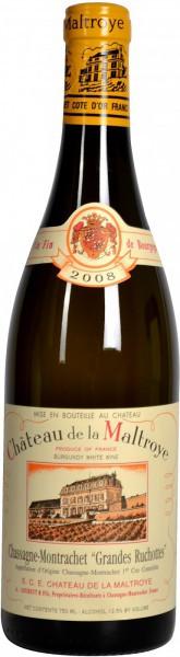 """Вино Chateau de la Maltroye, Chassagne-Montrachet 1er Cru """"Grandes Ruchottes"""", 2008"""