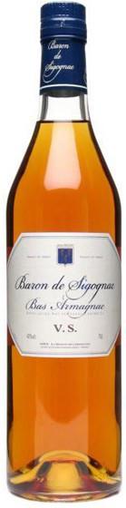 Арманьяк Baron de Sigognac VS, 0.7 л