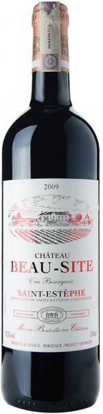 Вино Borie-Manoux, Chateau Beau-Site, Saint-Estephe, 2009