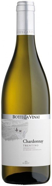 "Вино Cavit, ""Bottega Vinai"" Chardonnay, Trentino DOC, 2014"