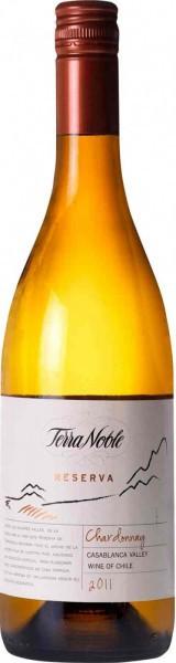 """Вино TerraNoble, """"Reserva"""" Chardonnay, 2011"""