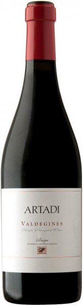 "Вино Artadi, ""Valdegines"", Rioja DOC, 2010, 1.5 л"