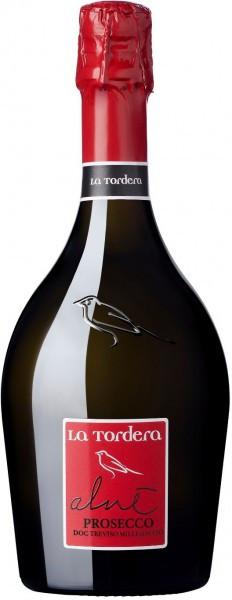 """Игристое вино La Tordera, """"Alne"""" Millesimato Extra Dry Prosecco, Treviso DOC"""