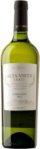 """Вино Alta Vista, """"Premium"""" Torrontes, 2013"""