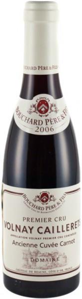 Вино Volnay 1-er Cru AOC Caillerets Ancienne Cuvee Carnot 2006, 0.375 л