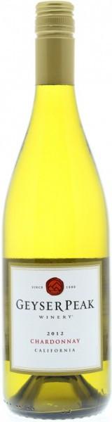 Вино Geyser Peak, Chardonnay, California, 2012
