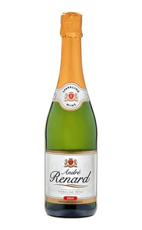 Игристое вино Francaise des Grands Vins Andre Renard White Semi Sweet 0.75л