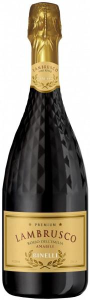 "Игристое вино ""Binelli Premium"" Lambrusco Rosso Amabile, Dell'Emilia IGT"