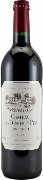 Вино Chateau les Ormes de Pez Saint-Estephe AOC 2000